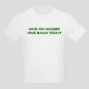 hugged your banjo  Kids T-Shirt