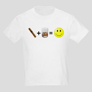 Cigar & Bourbon Kids Light T-Shirt