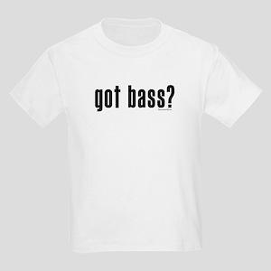 got bass? Kids Light T-Shirt