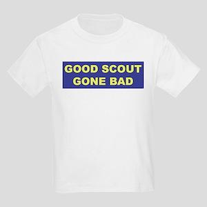 Good Scout Gone Bad (Blue) Kids T-Shirt