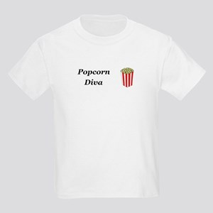 Popcorn Diva Kids Light T-Shirt