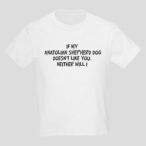 Anatolian Shepherd Dog like y Kids Light T-Shirt