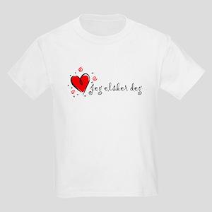 """I Love You"" [Norwegian] Kids T-Shirt"