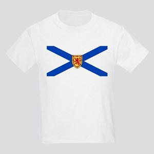 Nova Scotia Flag Kids Light T-Shirt