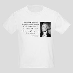 Thomas Jefferson 7 Kids Light T-Shirt