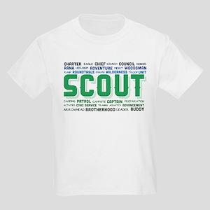 Scout Word Cloud Kids Light T-Shirt