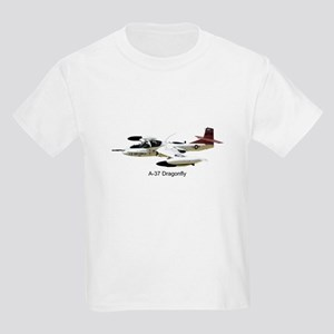 A-37 Dragonfly Kids Light T-Shirt