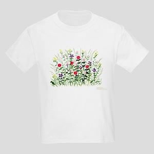 Field of Flowers Kids Light T-Shirt