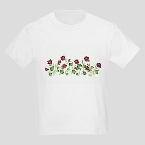 Purple Poppies Kids Light T-Shirt