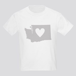 Heart Washington Kids Light T-Shirt