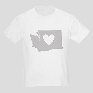Heart Washington Kids Light T-Shirt