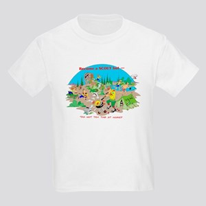 DO NOT try this at home Kids T-Shirt