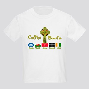 My Celtic Heritage. Kids Light T-Shirt