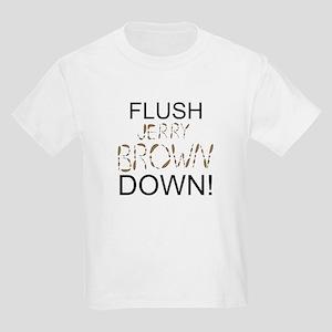 Flush Brown Kids Light T-Shirt