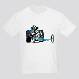Vintage Top Fuel 1 Kids Light T-Shirt