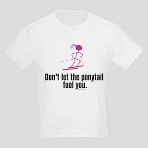 ski ponytail T-Shirt