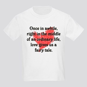 Fairy Tale Love Kids T-Shirt