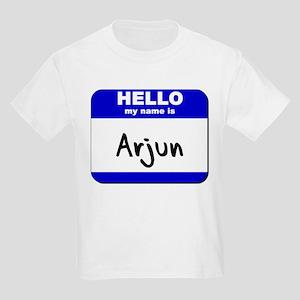 hello my name is arjun Kids Light T-Shirt