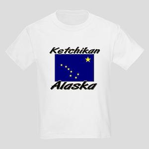 Ketchikan Alaska Kids Light T-Shirt