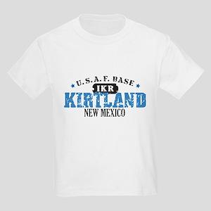 Kirtland Air Force Base Kids Light T-Shirt