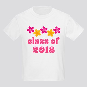 Floral School Class 2018 Kids Light T-Shirt