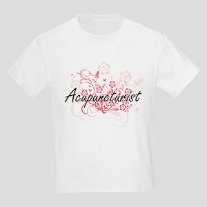 Acupuncturist Artistic Job Design with Flo T-Shirt