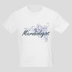 Microbiologist Artistic Job Design with Fl T-Shirt