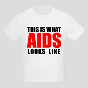 What AIDS looks like Kids Light T-Shirt