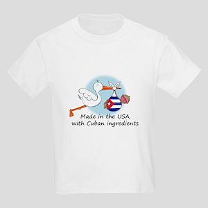 Stork Baby Cuba USA Kids Light T-Shirt
