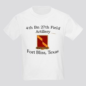 4th Bn 27th FA Kids Light T-Shirt