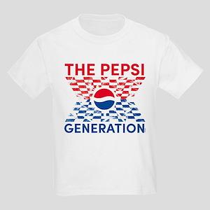 Pepsi Generation Checkered Kids Light T-Shirt