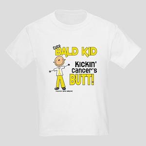 Bald 4 Childhood Cancer (SFT) Kids Light T-Shirt
