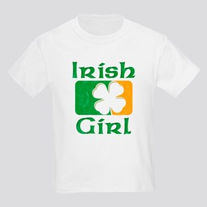 Irish Girl Kids Light T-Shirt