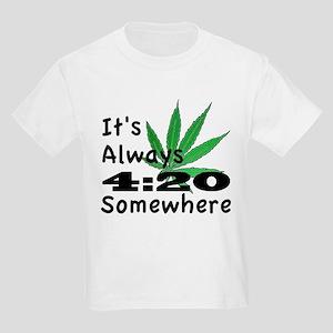 420 Kids Light T-Shirt