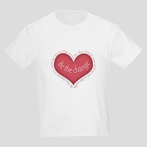 Be the Change Kids Light T-Shirt