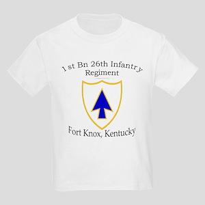 1st Bn 26th Infantry Kids Light T-Shirt