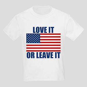 Love it or Leave it Kids Light T-Shirt