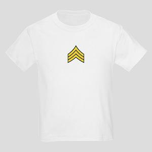 """Army E5 """"Class A's"""" Kids Light T-Shirt"""
