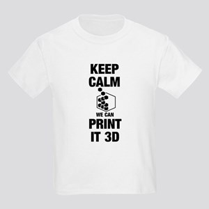 3d Printer Kids Light T-Shirt