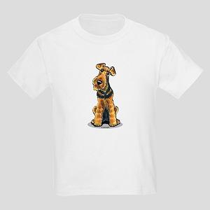 Airedale Welsh Terrier Kids Light T-Shirt