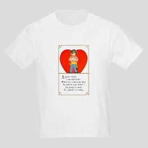 Pirate Valentine Kids Light T-Shirt