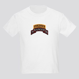 75 Ranger STB scroll with Ran Kids Light T-Shirt