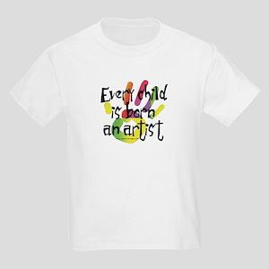 Every Child is an Artist Kids Light T-Shirt
