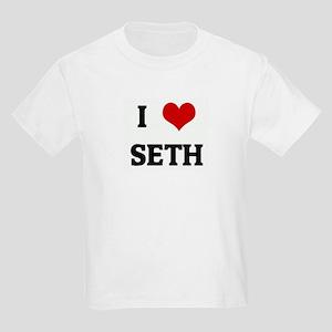 I Love SETH Kids T-Shirt
