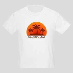 St. John, USVI Kids Light T-Shirt