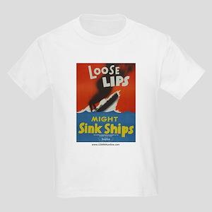 Loose Lips Kids Light T-Shirt