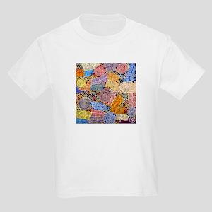 AUSTRALIAN ABORIGINAL ART IN CIRCLES T-Shirt