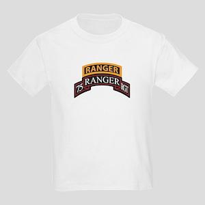 75 Ranger RGT scroll with Ran Kids Light T-Shirt