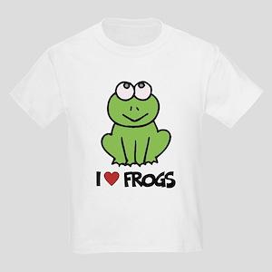 I Love Frogs Kids T-Shirt