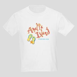 Amelia Island - Kids Light T-Shirt